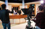 Studio de production télévisuelle