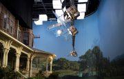 Sharp Objects: le tournage de toutes les scènes de la maison victorienne d'Adora Crellin fut en studio à LA. Nous nous sommes occupés de recréer l'extérieur.