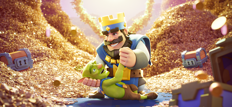 Squeeze and Supercell Team Up Again for The New Clash Royale's Magic Items Trailer